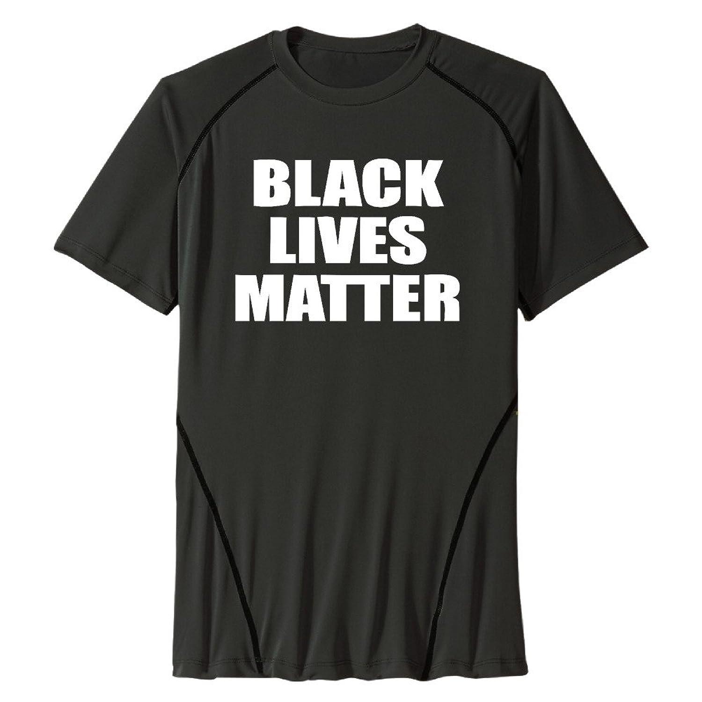 Men Quick Dry Sport T-Shirt Black Lives Matter