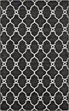 A2Z Rug Indoor/Outdoor Rug Black 5′ x 8′ -Feet Transitional Collection Area Rugs – Perfect for Outdoor Carpet Review