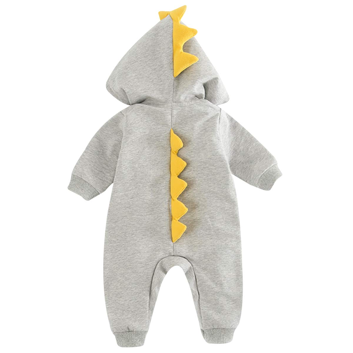 famuka Newborn Baby Hooded Romper Infant Onesies Jumpsuit Cute Cartoon Outfits