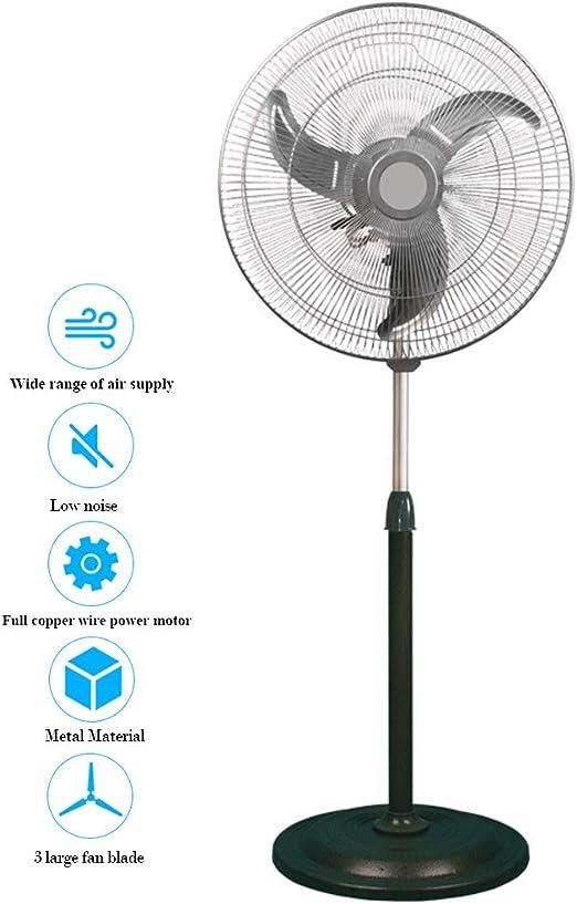 RXBD fan Ventilador Industrial con Pedestal oscilante, Ventilador ...