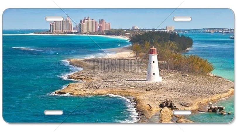 CafePress Vanity Tag Aluminum License Plate Nassau Front License Plate Bahamas Aluminum License Plate