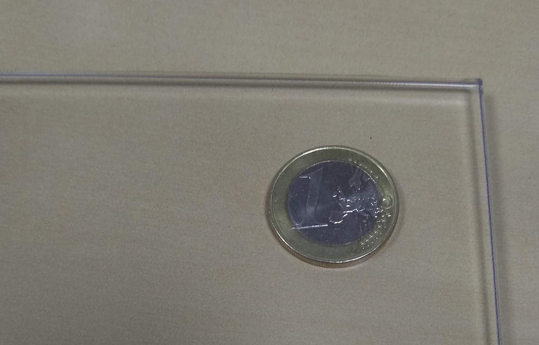 Metacrilato transparente 3 mm. 100 x 30 cm. - Diferentes tamaños (100x100, 100x70, 100x50, 30x30) - Plancha de Metacrilato traslucido a medida - Placa ...