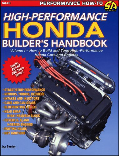 1: High Performance Honda Builders Handbook (S-A Design)