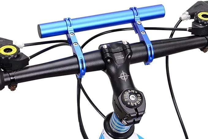 DDPP Bicicleta Manillar extensión extensión Soporte de Fibra de ...