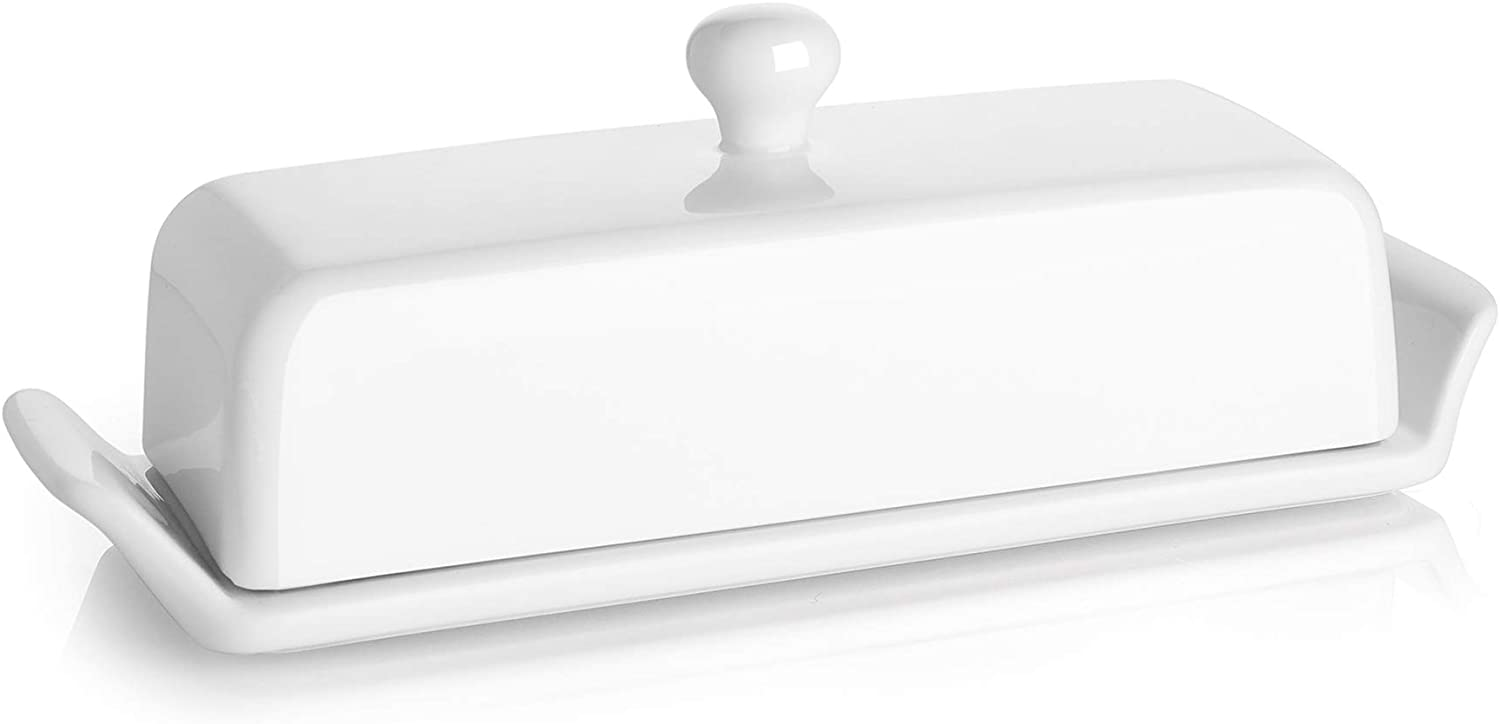 Butter Dish With Lid Butter Dishes With Covers Suitable For Eastern West Coast Butter Tbsp Markings On Butter Keeper White Better Butter Beyond Butter Dishes