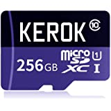 Micro SD SDXC Card 256GB High Speed Class 10 Memory Card With Micro SD Adapter