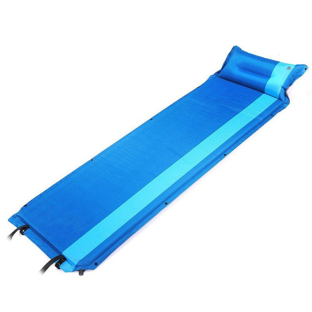 Sleeping pad Einzelnes Selbstaufblasendes Kampierendes Rollen-Matten-aufblasbare Schlafenmatratze,C