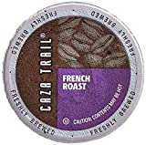 Caza Trail Coffee, French Roast, 100 Single Serve Cups For Sale