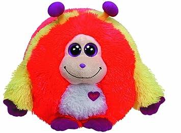 Ty 37911 Monstaz Murphy Monster - Monstruo de peluche (tamaño extra grande), color rojo y amarillo: Amazon.es: Juguetes y juegos