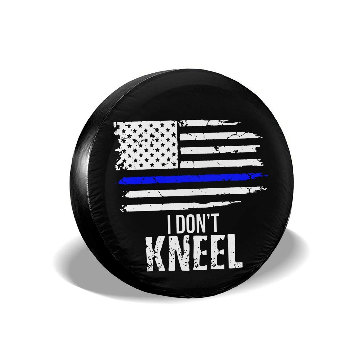 ULNL I Dont Kneel USA Flag Spare Wheel Tire Cover Funny Waterproof Tire Protectors Novelty