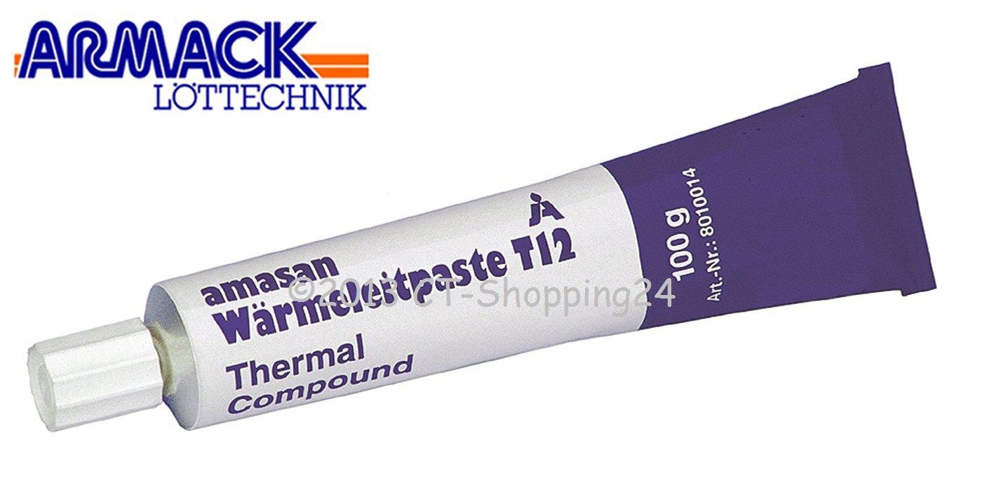 Amasan T12/Pasta T/érmica Blanco 100/gramos Tube 8010014