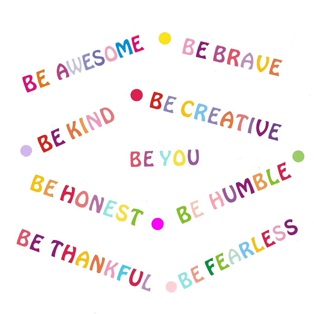 Amazon.com: Be Kind Wall Decals Inspirational Quotes for Kids Rooms Be You Motivational Wall Art Stickers Positive Sayings Wall Decor for Playroom Classroom: Baby