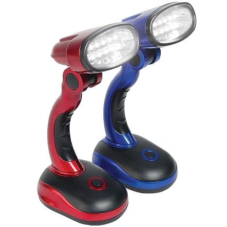 Amazon.com: Lámparas LED de computadora (Set/2) Azul y Rojo ...