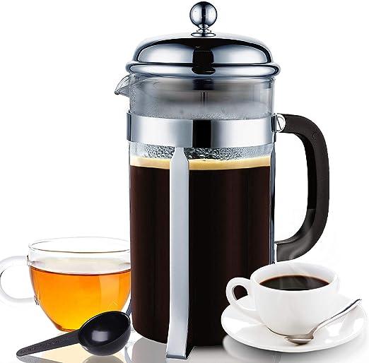 Prensa de café para prensa francesa 3 en 1 para café/té suelto ...