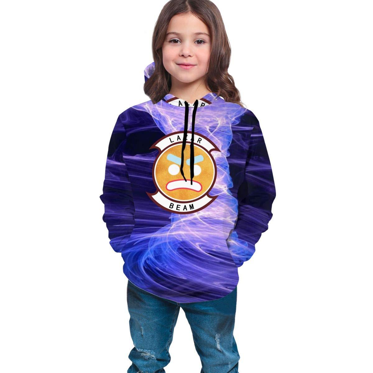 Teen Girls Boys Lazarbeam Logo Hoodie Sweatershirt Long Sleeve Pullover Hoodies for Teens Girls Boys Clothes Black