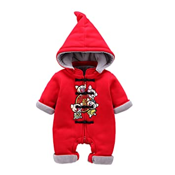 Amazon.com: AIBAB Chinese Style Infant Cotton Newborn Clothes Winter ...