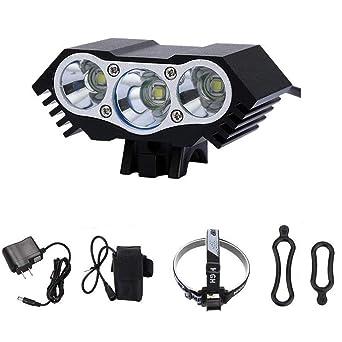 ... T6 LED Vorder Fahrrad Licht Fahrrad Scheinwerfer Scheinwerfer  Wasserdicht Radfahren Camping Angeln Wandern Lam: Amazon.de: Beleuchtung