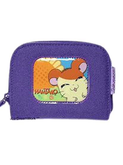 Amazon.com: Jamón Jamón Hamtaro Coin Purse Wallet w/Zipper ...