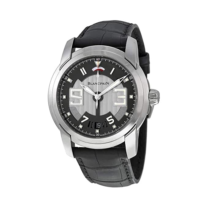Blancpain L-Evolution 8 Days Black Steel Automatic Mens Watch 8805-1134-53B