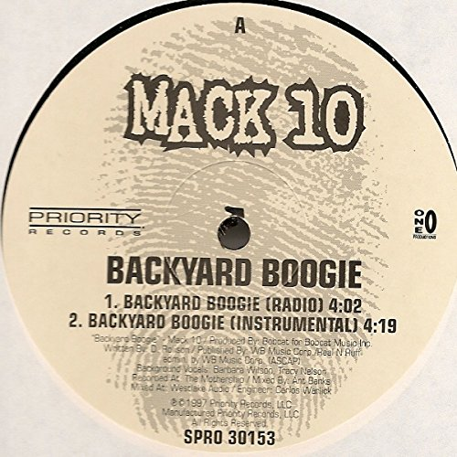 Backyard Boogie [Vinyl] by Priority Records