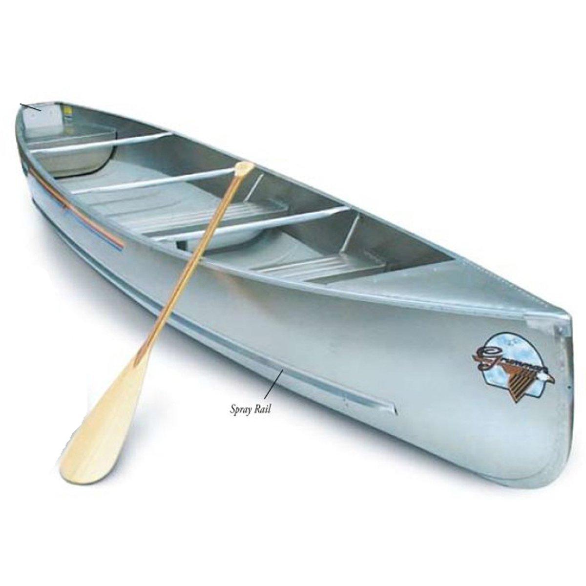 Grumman 16' Square Stern .050 Canoe - Natural Aluminum Finish