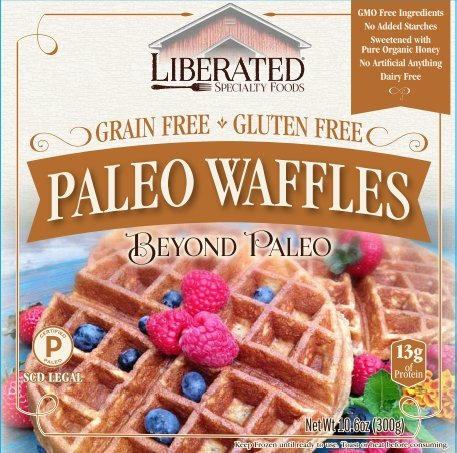 Liberated Paleo Waffles, Paleo by Liberated