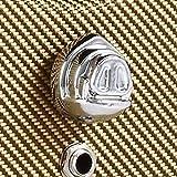 Authentic Pignose Guitar Amplifier Knob, Chrome