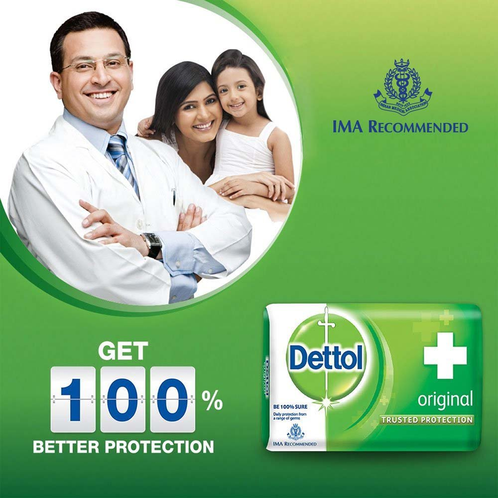 Dettol Soap Original 125gm Cloudtail India Bar Cool 105 Gr 5 Pcs