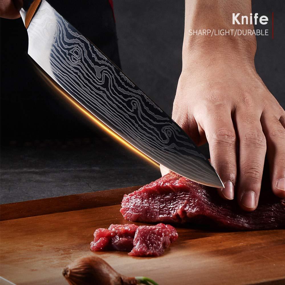 Kitchen Knife DABOWEN DANDAO-sfsdhf-01 by AUIIKIY (Image #7)
