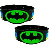 eshoppee batman with lock wrist band for man and women SET OF 2