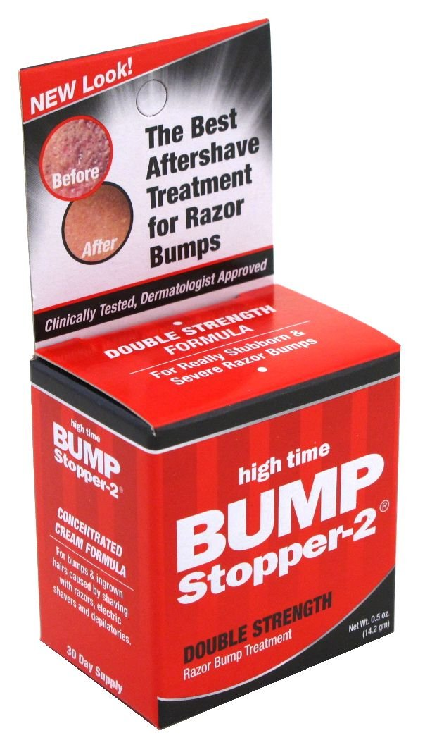 High Time Bump Stopper-2 Double Strength Treatment .5 oz. (3-Pack) with Free Nail File Bump Patrol DB-B9S5-0A6L