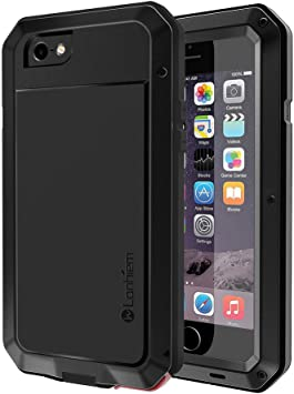 Lanhiem Funda iPhone 6 / 6S, [Rugged Armour] Antigolpes Metal ...