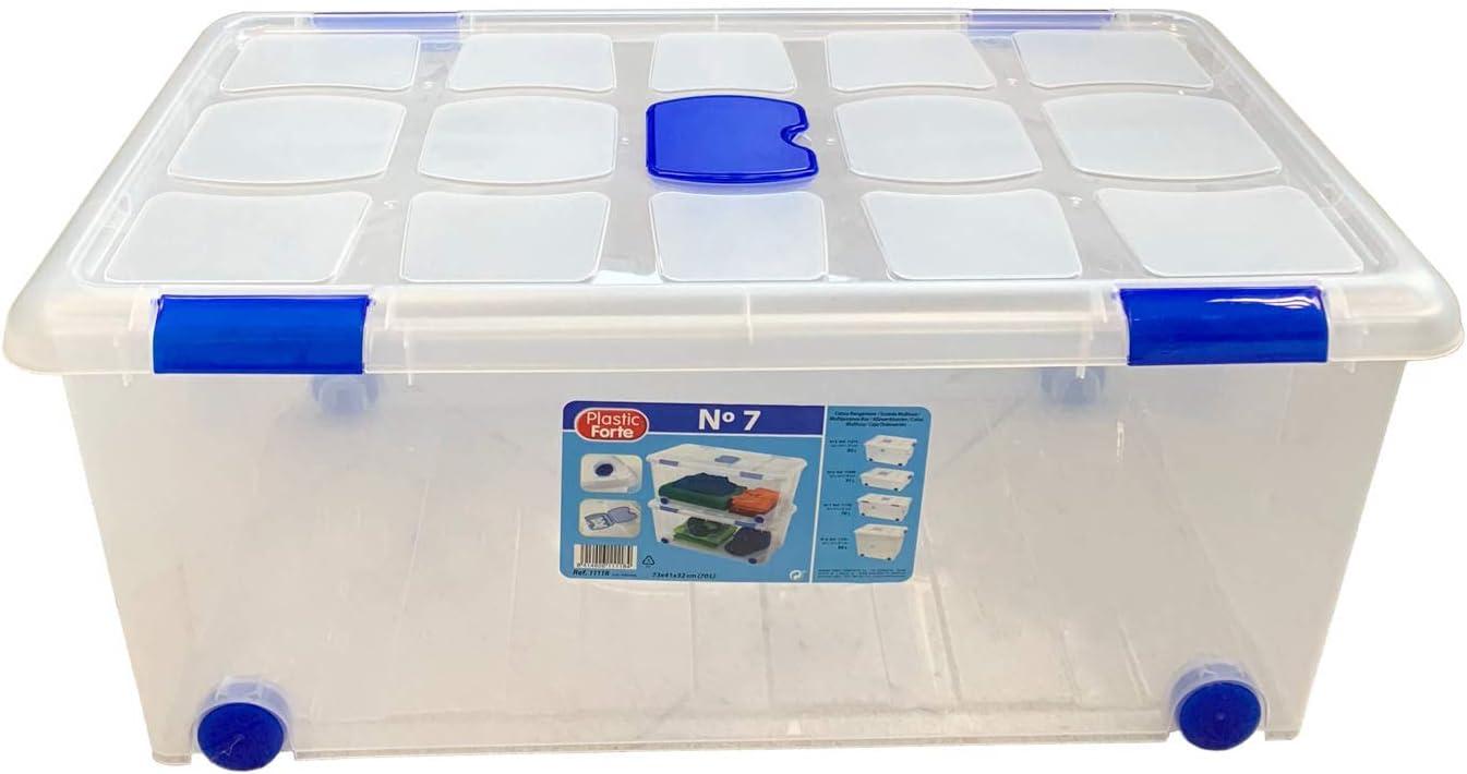 Plastic Forte - Caja de ordenación n 7 70 litros: Amazon.es: Hogar