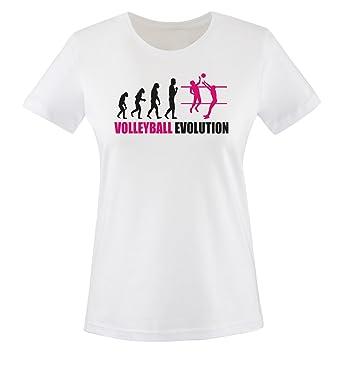 Shirts Comedy Ball Taille Xxl Xs Femmes Shirt Couleurs Évolution Volley T Divers Pk0wOn