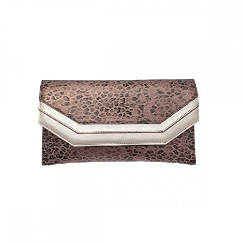 Sabrina Chic Clutch N/A Animal Print