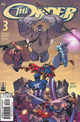 Order, The #3 VF/NM ; Marvel comic - Order Triathlon