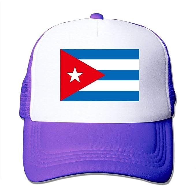 f9a310fc0633e Gorras de béisbol Bandera de Cuba Gorras de Malla Sombrero Camionero  Sombrero Ajustable