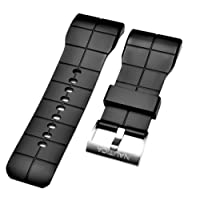nautica N15530G Clipper uomo nero 36 mm originale di ricambio Watch Band/cinghia