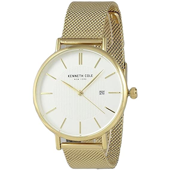 Kenneth Cole Classic Reloj de Mujer Cuarzo 34mm Correa de Acero KC50046008
