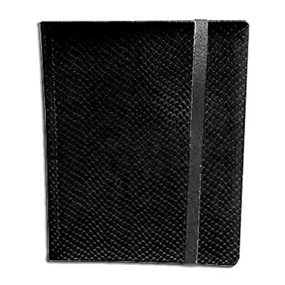 Legion Supplies Binder - 9 Pocket Dragon Hide Black: Toys & Games [5Bkhe0706766]