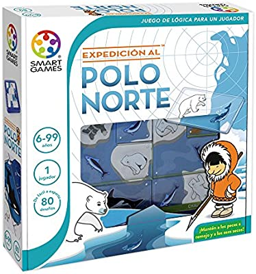 Smart Games - Expedición al Polo Norte: Amazon.es: Juguetes y juegos