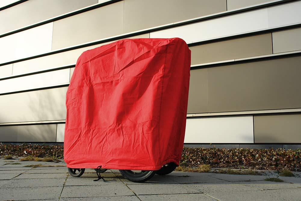 softgarage buggy softcush lichtgrau Abdeckung f/ür Kinderwagen Teutonia Mistral S Regenschutz Regenverdeck