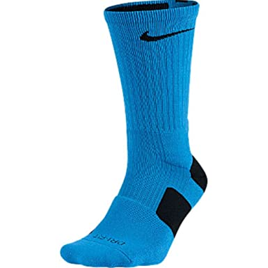 Amazon.com: Nike Elite Cushioned Basketball Crew Socks ...