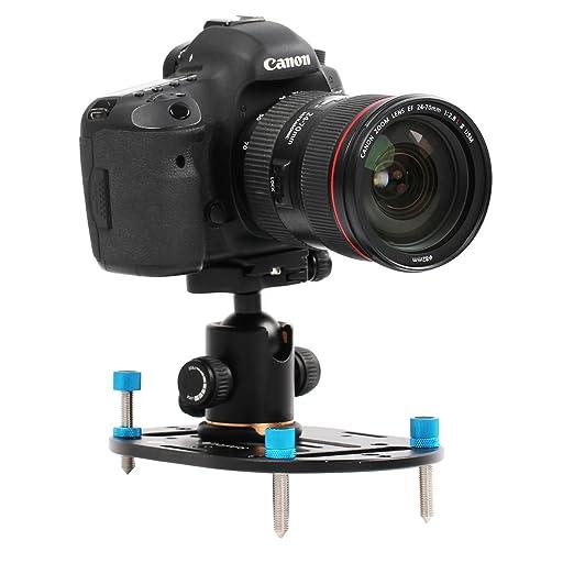 Dazzne Kit de jaula de cámara réflex digital con varillas de 15 mm ...