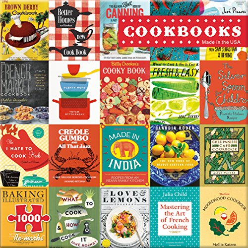 Re-Marks Cookbooks 1000 Piece Puzzle from Re-Marks