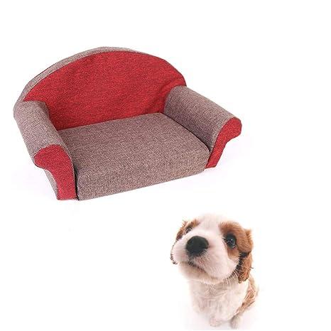 Amazon.com: NAMBM Sofá para perro, cama para mascotas ...