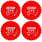 freud rip saw blade - Freud D1024X Diablo 10-Inch 24-Tooth ATB Ripping Saw Blade 5/8-Inch Arbor and PermaShield Coating (4 Pack)