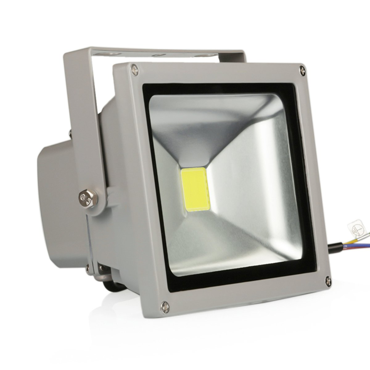 LEDMO 20w flood lights LED Waterproof IP65 Floodlight, Daylight White - -  Amazon.com