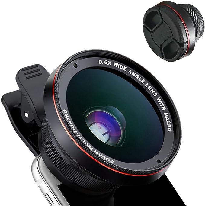 Teléfono 2 en 1 Profesional HD Kit de Lente de cámara, 15 x Macro ...