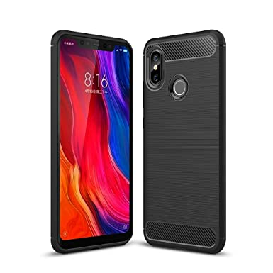 brand new 72fe4 7ee53 German Tech Gel Case for Xiaomi Mi 8. TPU Case Carbon Fiber (Elite ...